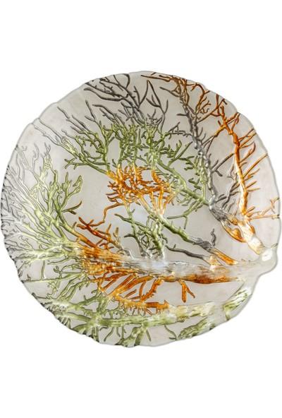 Mudo Concept Tree Dekoratif Tabak Beyaz 40Cm