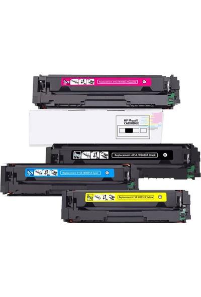 İnkwell HP Color Laserjet Pro M479FDW-HP 415X Uyumlu Muadil Toner 1 Set Renk 6000 Syf