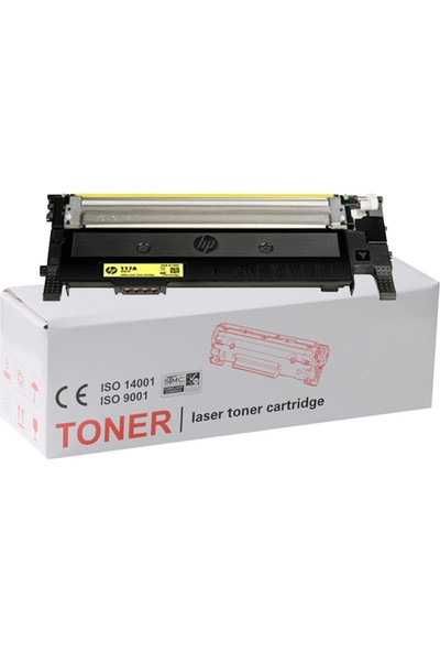 İnkwell HP Color Laser Mfp 179NW-HP 117AUyumlu Sarı Muadil Toner