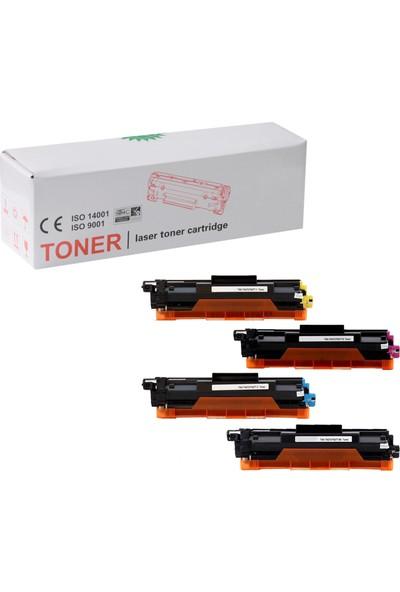 Photo Print Brother TN-273 / TN-277 DCP-L3551CDW 4 Renk Muadil Toner Seti 2300 Sayfa Renkli
