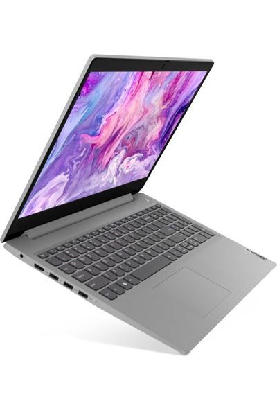 """Lenovo IdeaPad 3 AMD Ryzen 7 3700U 12GB 256GB SSD Freedos 15.6"""" FHD Taşınabilir Bilgisayar 81W1005QTXZ7"""