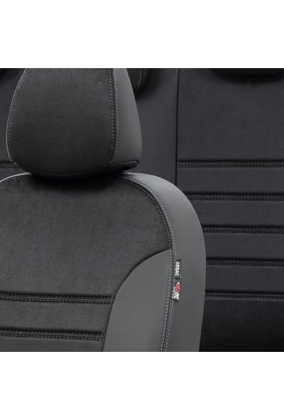 Otom Renault Clio 3 Symbol 2006-2012 Özel Üretim Koltuk Kılıfı Milano Design Siyah