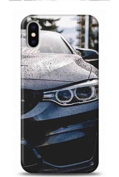 Onadair Xiaomi Redmi Note 9S BMW M Power Desenli Silikon Telefon Kılıf