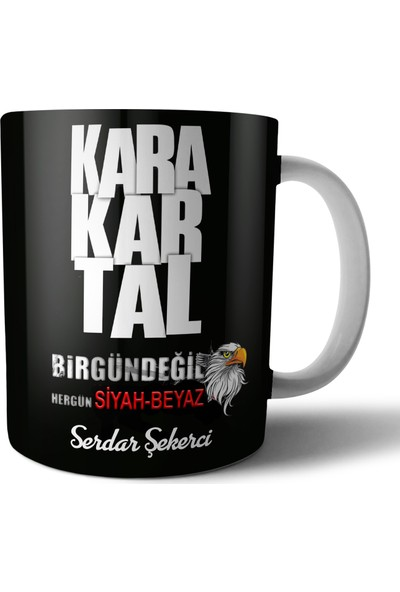 Genç Bijuteri Beşiktaş Kupa Bardak