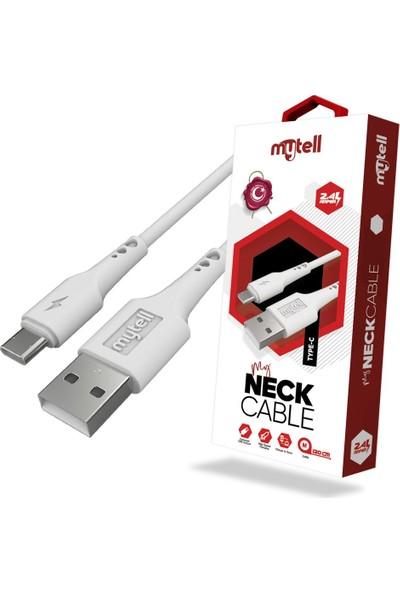 mytell Neck Cable Type C Hızlı Şarj ve Data Kablosu