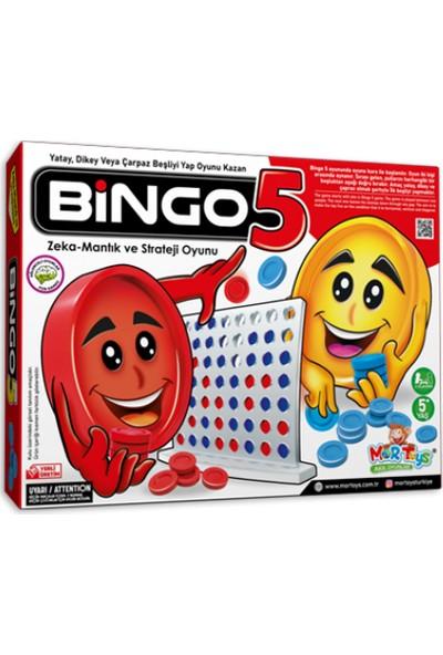 Mor Toys Bingo5 Zeka ve Strateji Oyunu