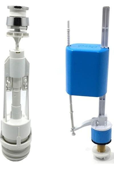 Noyan Best Klozet Sifon Basmalı Rezervuar Iç Takım Su Tasarruflu Kolay Kullanım Klozet Iç Takım