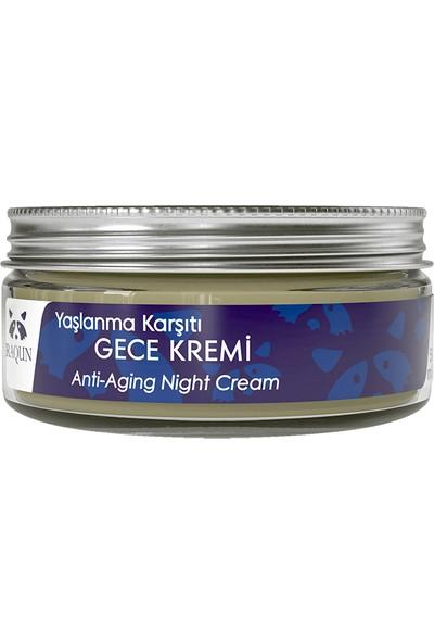 RAQUN Yaşlanma Karşıtı Gece Bakım Kremi 50 ml %100 Doğal & Organik İçerik