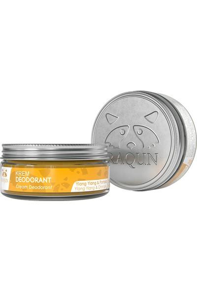 RAQUN Krem Deodorant 50 ml %100 Doğal & Organik İçerik