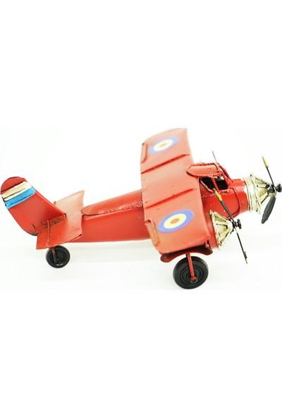 MNK Dekoratif Metal Uçak