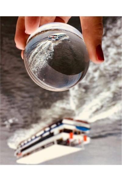 Tekiner Cam Fotoğrafçılık Küresi 60 mm Kristal Cam Küre