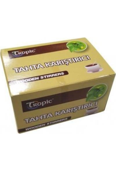 Tropic Çay Kahve Tahta Karıştırıcı 600'LÜ
