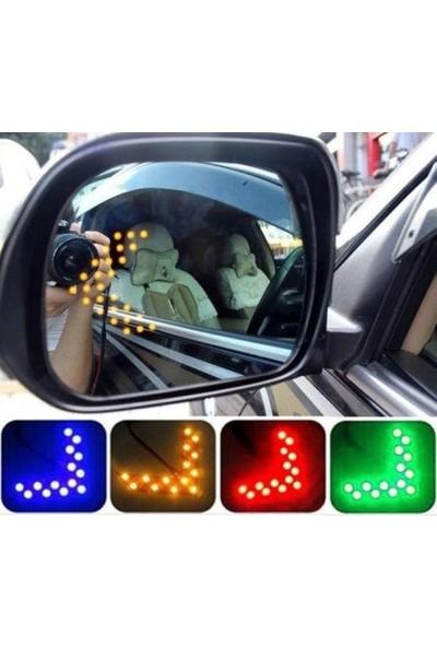 Universal Oto Ayna Içi LED Sinyal Modülü Dikiz Ayna Sinyali Sinyal Lambası Sarı Amber Turuncu