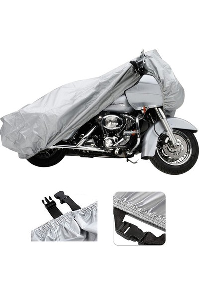 Autozel Sym Vs 150 Motor Brandası Motosiklet Branda- Tokalı