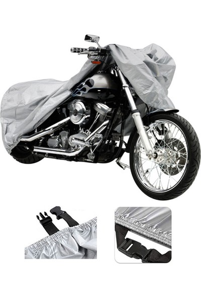 Autozel Falcon Freedom 250 Motor Brandası Motosiklet Branda- Tokalı