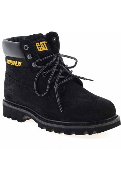 Cat Colorado Erkek Bot Black - Nubuk