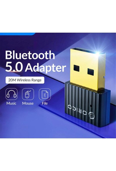 Schulzz Orico Bluetooth 5.0 Mini 3.5mm Dongle USB Alıcı Verici Adaptör