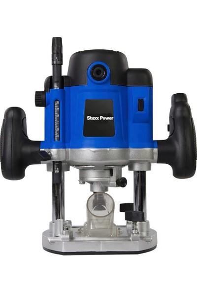 Staxx Power Staxx Pro 3000 Watt Profesyonel Freze Formika Makinası 6-8 mm Pens Bakır