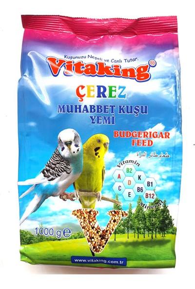 Vitaking Muhabbet Kuş Yemi + 10LU Kraker + Mürekkep Balığı Kalamar Kemiği 30G