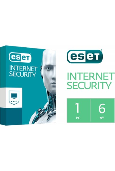 Eset Internet Security 2020 Dijital Lisans - 180 Gün - 1 Pc