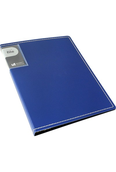 Shuter Sert Kapak Sunum Dosyası 40'lı Mavi F03 40