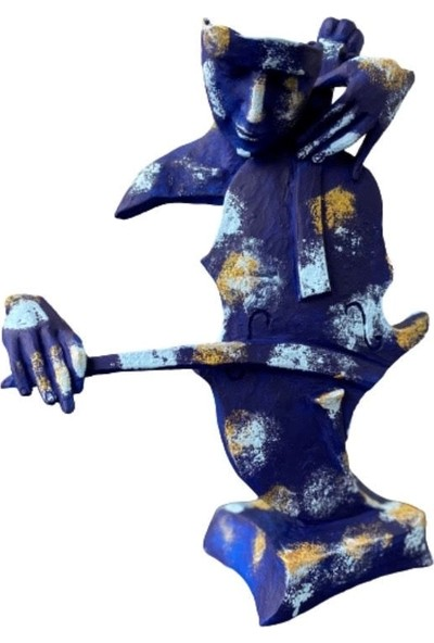 Orenc Craft Mask Keman Dekoratif Obje, Biblo, Aksesuar