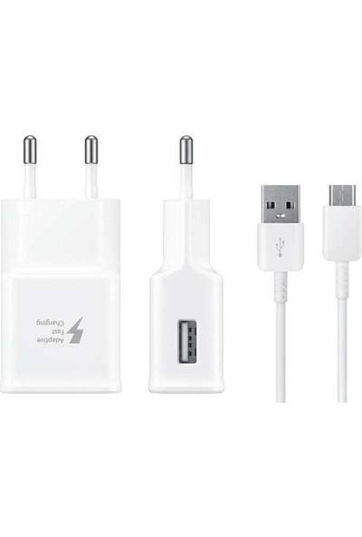 Paleon S8 Hızlı Şarj Destekli 2.4A Akıllı Çip Teknolojili Şarj Cihazı Micro USB Kablo (Type-C)