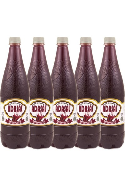 Adaşal Adana'dan Adaşal Şalgam Suyu Acısız 1 Lt 5 Li C Vitamini Deposu