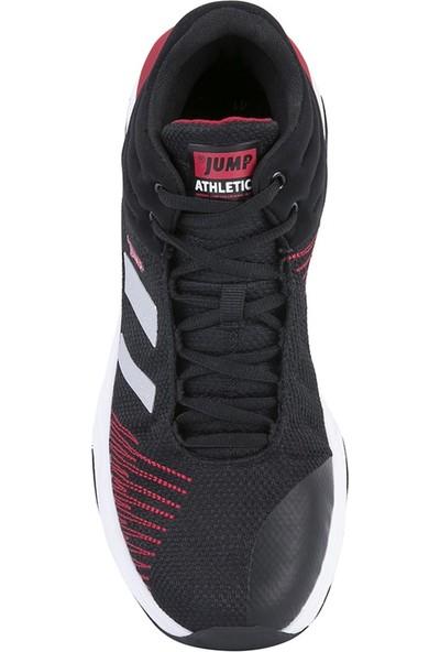 Jump 24774 Erkek Basketbol Ayakkabısı Siyah-Beyaz-Kırmızı