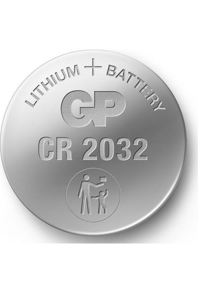 Gp CR2032 Lityum 3V Düğme Pil 5 Blister 20 Kart 100'lü