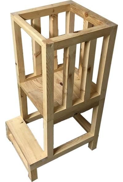 Arel Ahşap Atölyesi Masif Montessori Öğrenme Kulesi