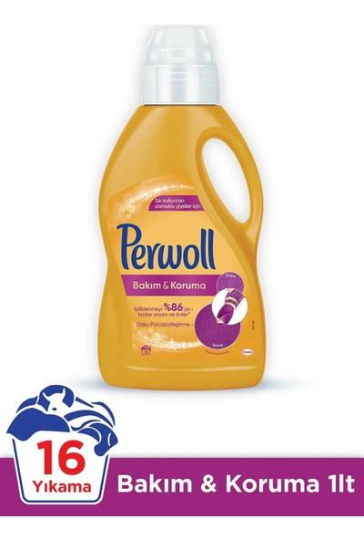 Perwoll 1 Lt 4 Lü Set 16WL Siyh+Renk+Bakon+Beyz