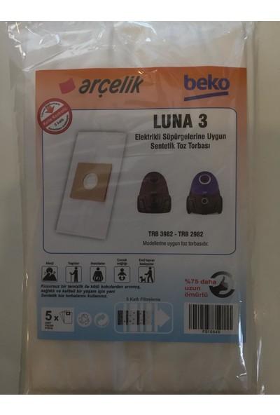 Arçelik Luna 3 Modelleri Için Uygun Elektrikli Süpürge Torbası