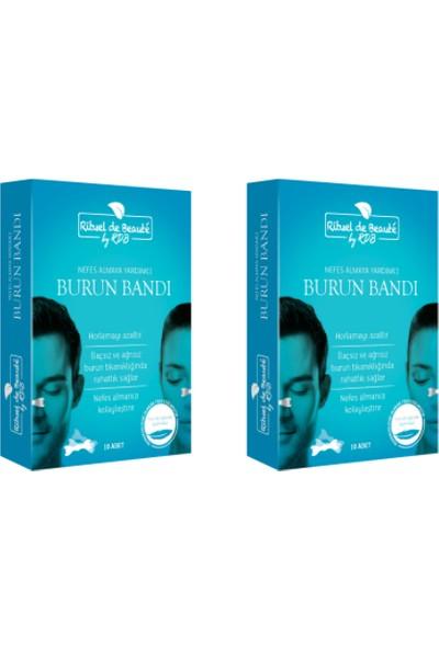 Rituel De Beaute Horlama Önleyici Burun Bandı 2 Kutu 20 Adet