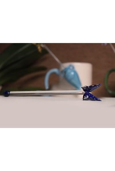 Adamodart Anforalı Kupa ve Cam Figürlü Karıştırıcı Set