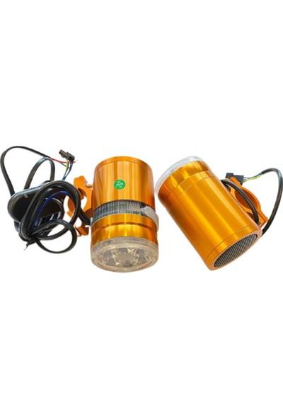 Tex Motosiklet Mp3 Çalar Bluetooth Özellikli 6 Ledli Güçlü Çakarlı