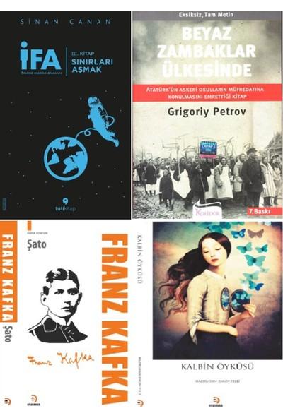 İfa: İnsanın Fabrika Ayarları 3.kitap- Beyaz Zambaklar Ülkesinde- Şato ve Kalbin Öyküsü Kitap Seti