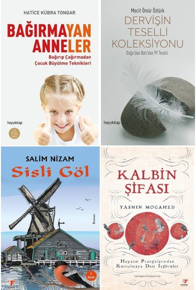 Bağırmayan Anneler- Dervişin Teselli Koleksiyonu- Sisli Göl ve Kalbin Şifası Kitap Seti