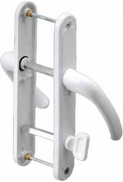 Flaş Group Pimapen Pvc Kapı Pencere Kolu Wc Kapı Kolu Banyo Tuvalet Kapı Kolu Barelsiz
