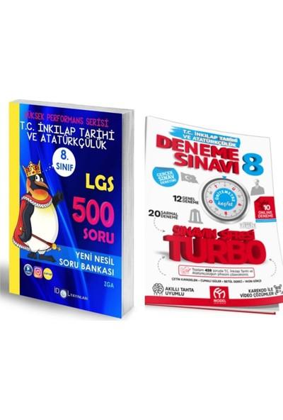 İdol Yayınları 8. Sınıf LGS İnkılap Tarihi Soru Bankası + Model Deneme