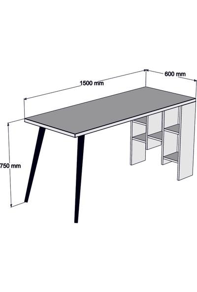 Dekoron Petek Çam Çalışma Masası