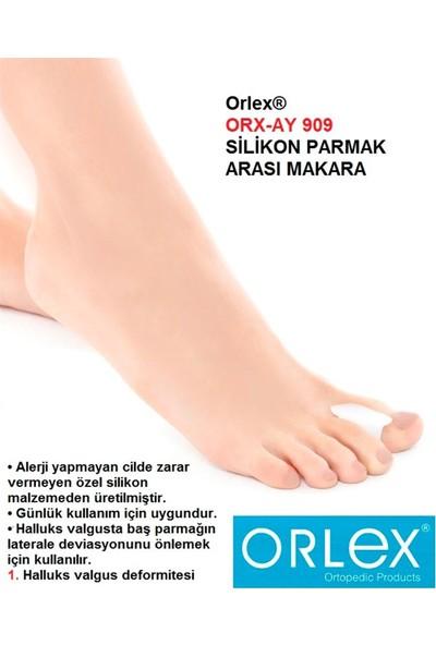Orlex Orx-Ay 909 Silikon Parmak Arası Makara Alerji Yapmayan Cilde Zarar Vermeyen Özel Silikon Malzemeden