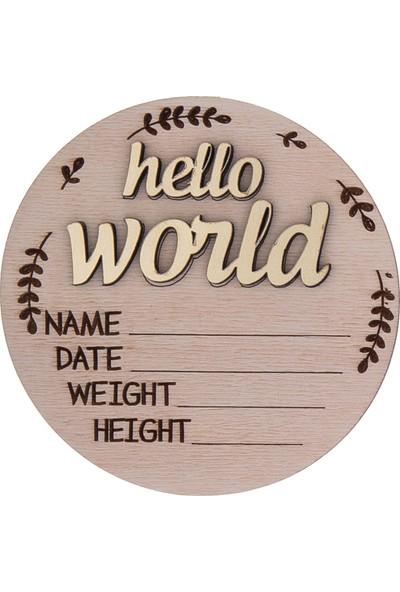 Baby Tales 'hello World' Doğum Plağı