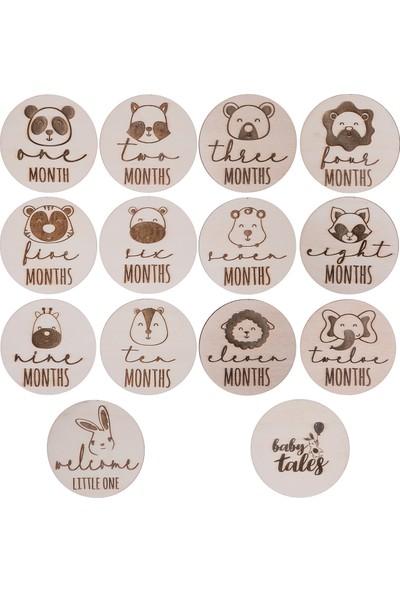 Baby Tales Animal Ilk Yıl Ay Plakları Seti