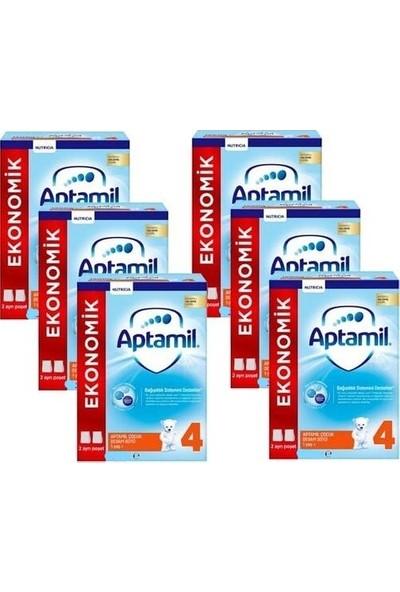 Aptamil 4 Çocuk Devam Sütü 900 gr 6'lı Paket