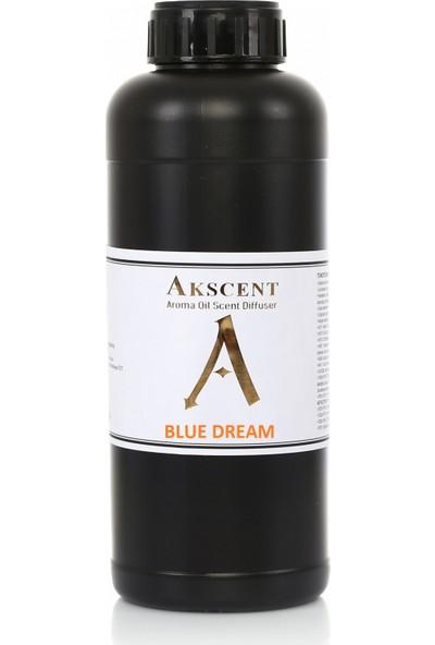 Akscent Tüm Koku Makinelerine Uyumlu Koku Makinesi Koku Kartuşu Esansı Blue Dream 1 Lt