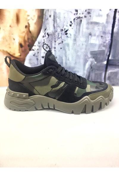Valentıno Garavanı Yenı Taban Erkek Sneaker Siyah 43