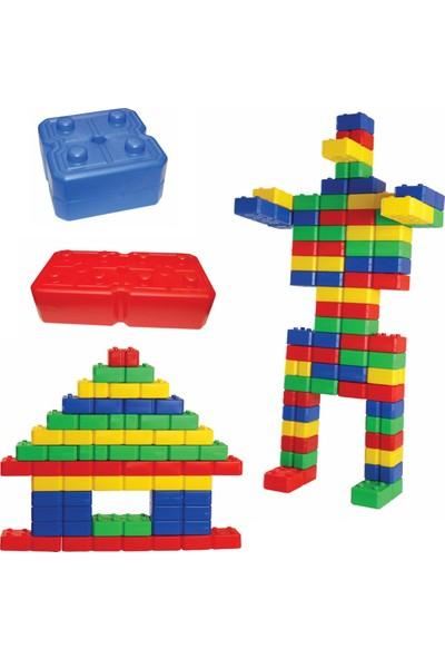 King Kids Plastik Tuğla 48 Parça
