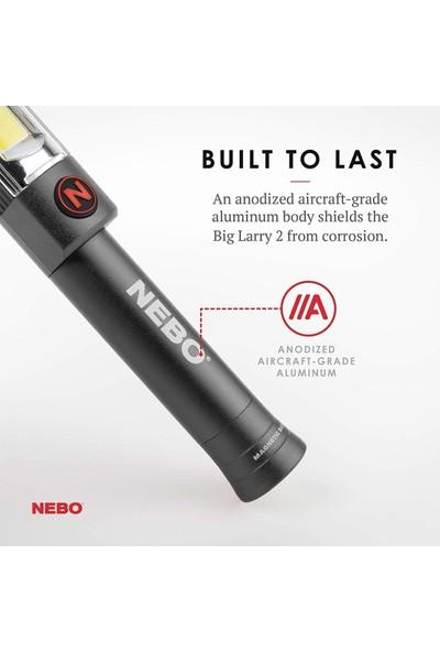 Nebo 6737 Big Larry 2 500 Lümen LED Fener (Kırmızı)
