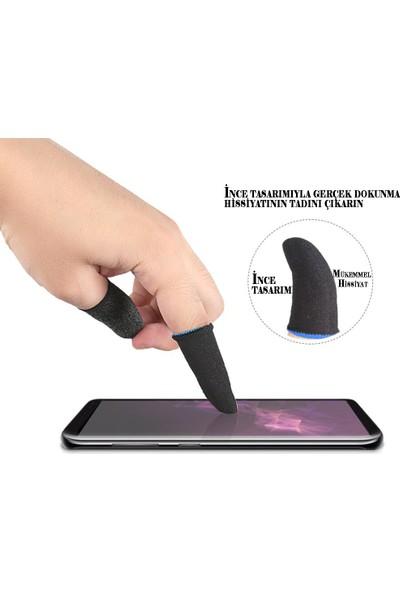 Qozie Pubg Mobile Oyun Yıkanabilir Ter Önleyici Çift Parmak Eldiven(Ince Model) 2 Adet